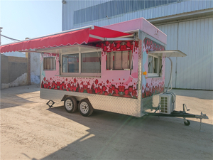 China Factory Supply Citroen Vintage Food Truck Van for Sale