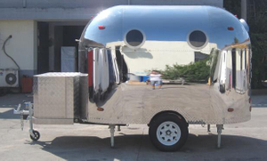 China Supplier Donut And Hot Dog Trailer Mobile Food Truck for Sale