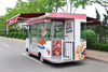 Mobile Bakery Shop Electric 4 Wheels Breakfast Street Diner Food Car