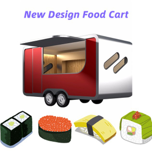 China Best Quality Burger Truck Food Mobile Food Trailer Snack Car For Sale