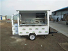 America Popcorn Vending Round Head Mobile Food Cart With Free Shipping