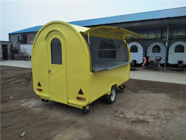 Cheap Low Price Electric Fast Food Truck for Sale UK