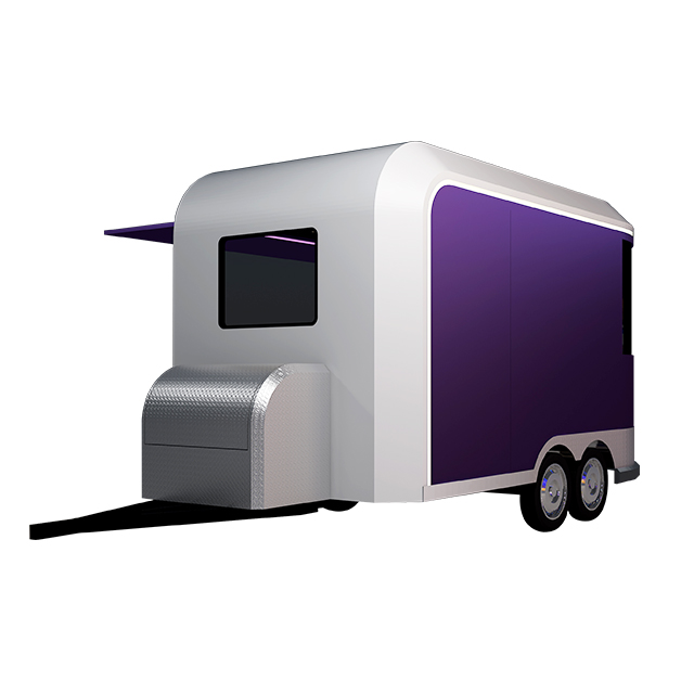CE Certificate Fast Mobile Catering Coffee Food Trailer For Outdoor Street Snacks