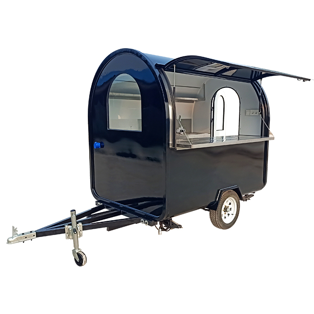 New Custom Enclosed Concession Food Vending Bbq Trailer