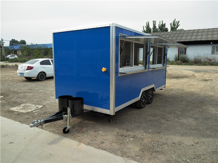 Customized Mobile Street Fast Vending Carts Fast Food Truck for Sale