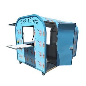 Factory Supplier Mini Mobile Food Cart Ice Cream Vending Cart for Sale