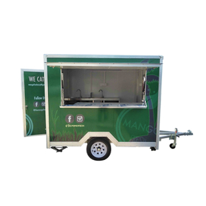 Australia Shawarma Burger Food Truck With Custom Logo