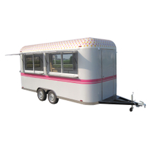 Deep Fryer Food Concession Trailer Ice Cream Rolls Food Trailer
