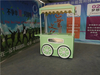 New Design Ice Cream Trailer With Wheels