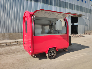 Mobile Kitchen Churros Food Truck Coffee Cart Frozen Food Trailer