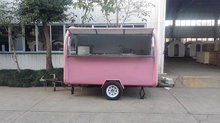 2020 American Street Popular New Designed Multifunctional Mobile Fast Food Trailer Truck Carts