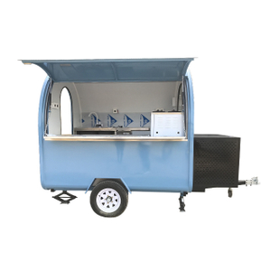 CE Certificates Sweden Street Mobile Shawarma Food Cart for Sale