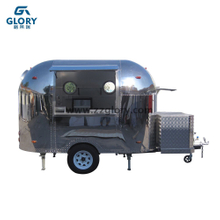 User Friendly Design Small Investment Domestic Village Active Demand Stainless Steel Food Trailer