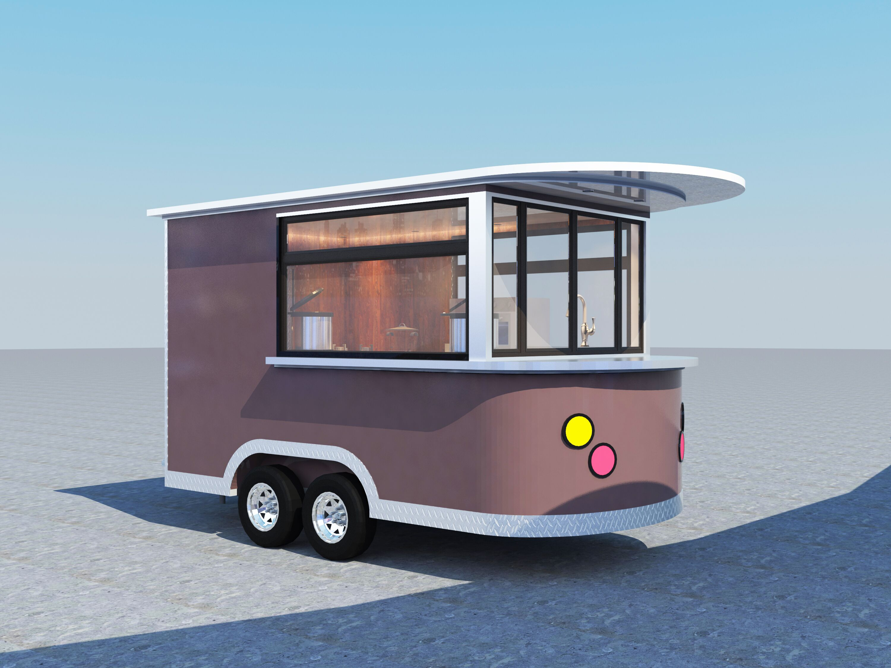 Coffee Cart for Mr. Darek