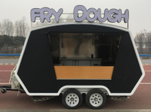 Hot sale black food truck malaysia mobile food trailer Can be customized food trucks