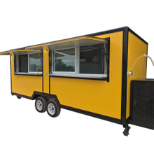 Hot Sale Square Type Mobile Kitchen Food Trailer
