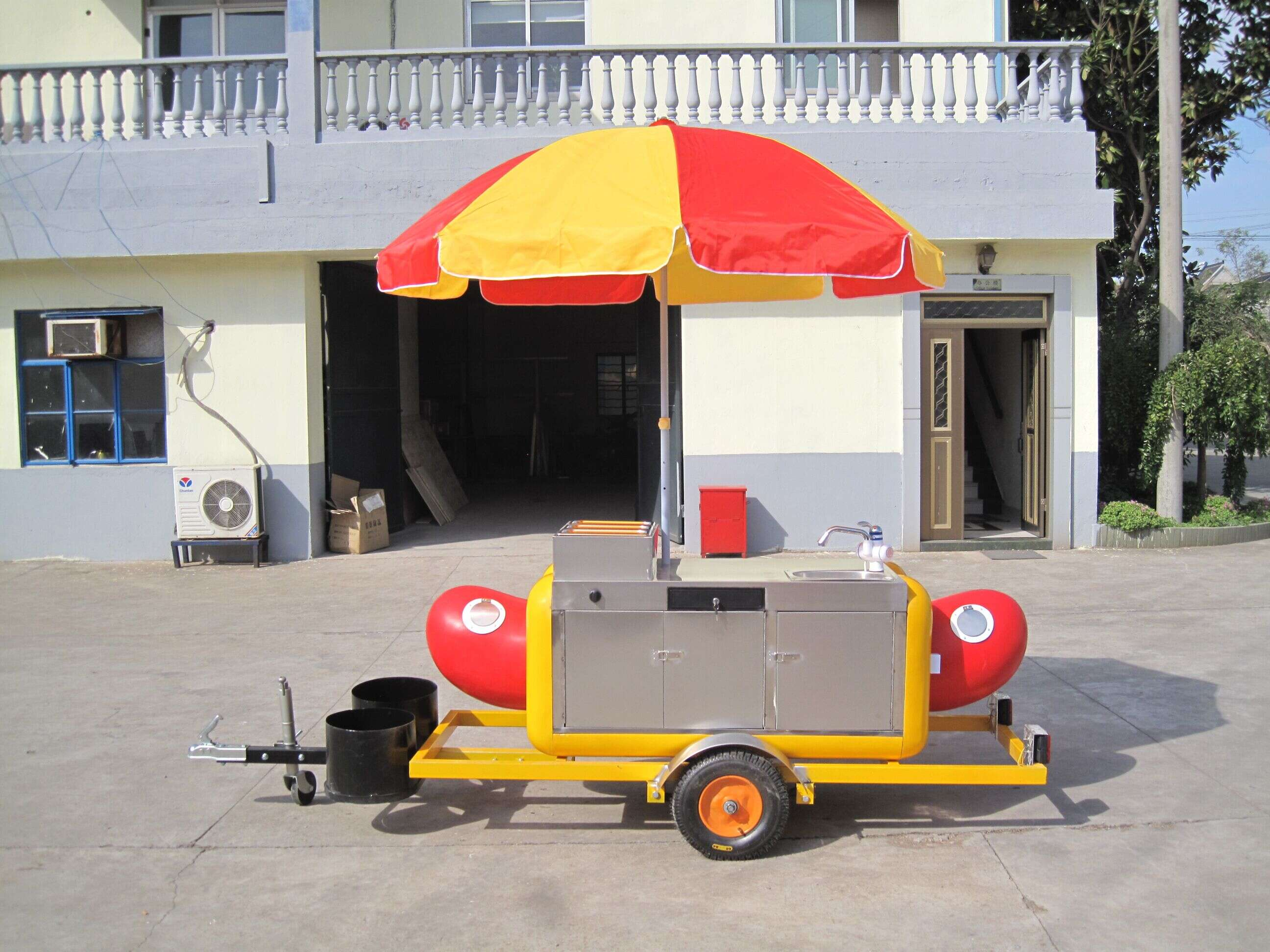10 Buyers Use Bicycle Hot Dog Vending Cart Grill for Sale Burger