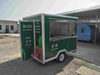 China Green Color Mobile Food Cart with Crepe Machine for Sale